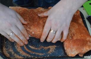 Копчёные свиные рёбрышки - фото шаг 4