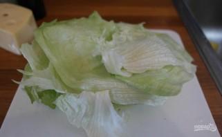 Салат из форели горячего копчения - фото шаг 1