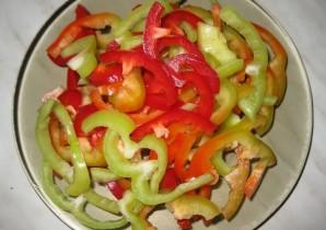 Фунчоза с говядиной и овощами - фото шаг 3