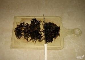 Вкусный салат из морской капусты - фото шаг 4