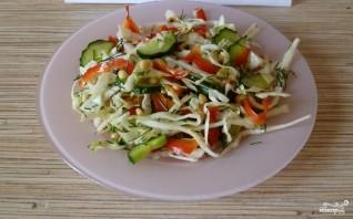 Салат с кедровым орехом - фото шаг 5