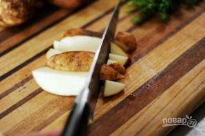Запеченная картошка в фольге - фото шаг 1