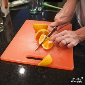 Апельсиновый мохито - фото шаг 1
