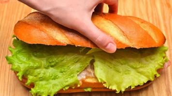 Быстрые бутерброды на стол - фото шаг 7