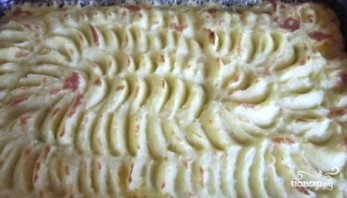 Рыба в картофельном пюре - фото шаг 5