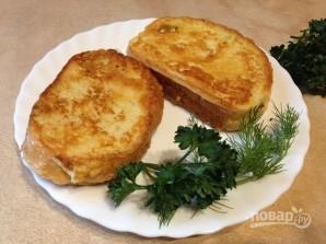 Горячий сэндвич с лососем - фото шаг 11