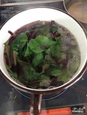 Свекольный салат с мандаринами - фото шаг 6