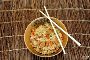 Рис с мясом и овощами - фото шаг 8