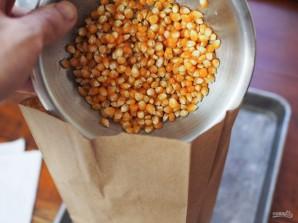 Попкорн в микроволновке с солью и маслом - фото шаг 2