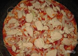 """Пицца """"Курица с ананасами"""" - фото шаг 2"""