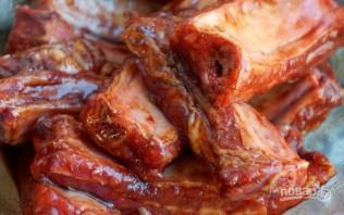 Ребра свиные копченые - фото шаг 1