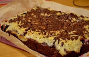 Брусничный торт с белым шоколадом - фото шаг 3