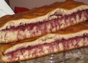 Быстрый бисквитный пирог - фото шаг 4