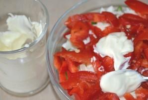 Салат из ветчины и сыра - фото шаг 7