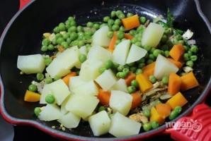 Овощные шарики в кляре - фото шаг 4