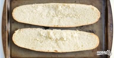 Пицца на батоне в духовке - фото шаг 1