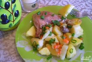 Утка, тушенная с овощами - фото шаг 5
