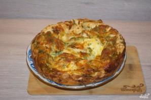 Пирог из лаваша с сыром в духовке - фото шаг 10