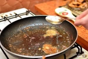 Курица с брокколи и грибами - фото шаг 8