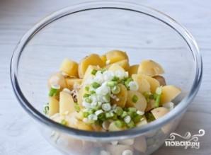 Салат из яиц и картофеля - фото шаг 7