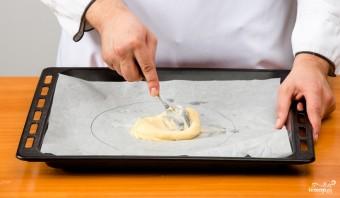 Торт из заварного теста с медом - фото шаг 4