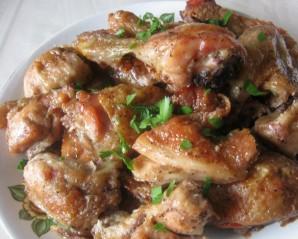 Курица с базиликом в духовке - фото шаг 3