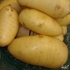 Картошка в сметане в мультиварке - фото шаг 1