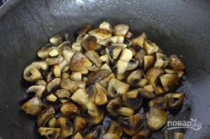 Салат с фасолью и шампиньонами - фото шаг 4