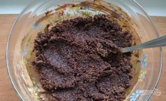 Шоколадный торт на кипятке - фото шаг 1