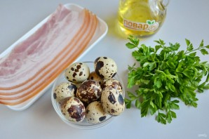 Закуска из яиц в беконе - фото шаг 1