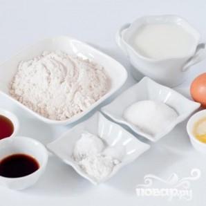 Маффины с посыпкой и ванильной глазурью - фото шаг 3
