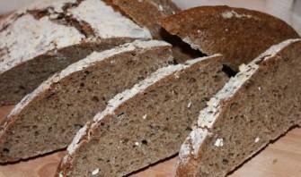 Ржаной хлеб без дрожжей - фото шаг 4