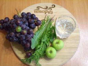 Зеленый коктейль для похудения - фото шаг 1