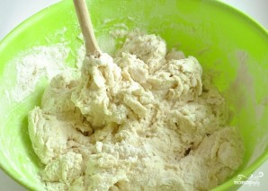 Белый хлеб в духовке - фото шаг 3