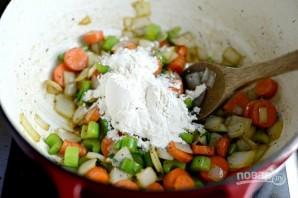 Тушёная курица с овощами - фото шаг 7