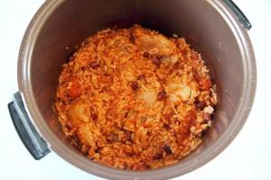 Курица с рисом и фасолью - фото шаг 8