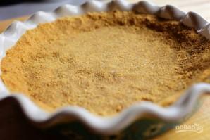 Пирог с киви и взбитыми сливками - фото шаг 4