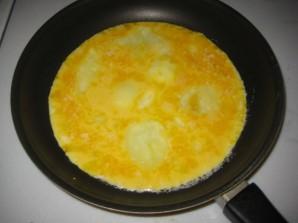 Омлет из желтков - фото шаг 3