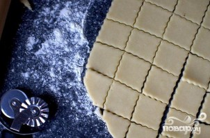 Крекеры с сыром Пармезан - фото шаг 3