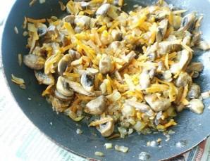 Перец, фаршированный грибами и рисом - фото шаг 5