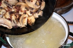 Диетический фасолевый суп - фото шаг 7