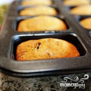 Кукурузный мини-хлеб с клюквой и орехами - фото шаг 6