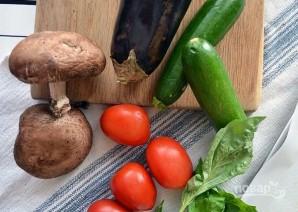 Закуска из печеных овощей с сыром - фото шаг 1