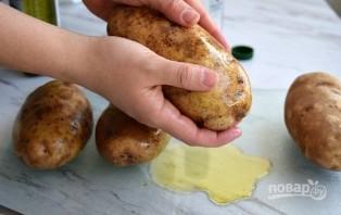 Запеченная картошка в кожуре - фото шаг 3