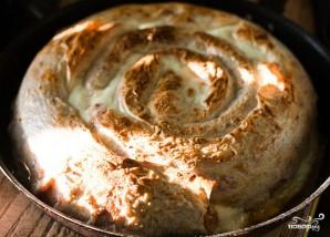 Пирог из лаваша с фаршем - фото шаг 9