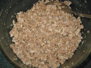 Блинчики на кефире с мясом - фото шаг 5