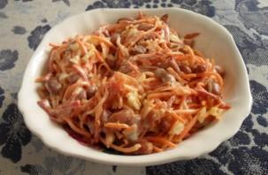 Салат с корейской морковью и курицей - фото шаг 4