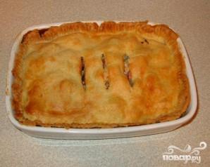 Пирог с курицей и беконом - фото шаг 5