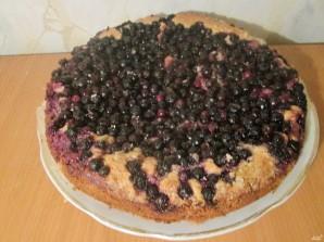 Песочное тесто для пирога с ягодами - фото шаг 8