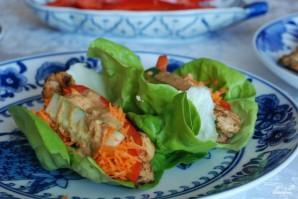 Закуска из курицы и свежих овощей - фото шаг 15